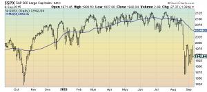 S&P500 1-year